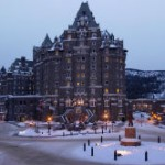 Banff Fairmont Bnaff Springs Night Ext web