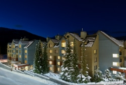 Hilton Whistler Exterior Winter Side Feb 15 250x169
