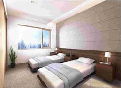 Mountainside Apts - bedroom  250x183