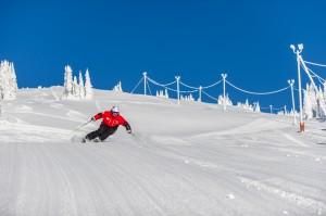 big white skier